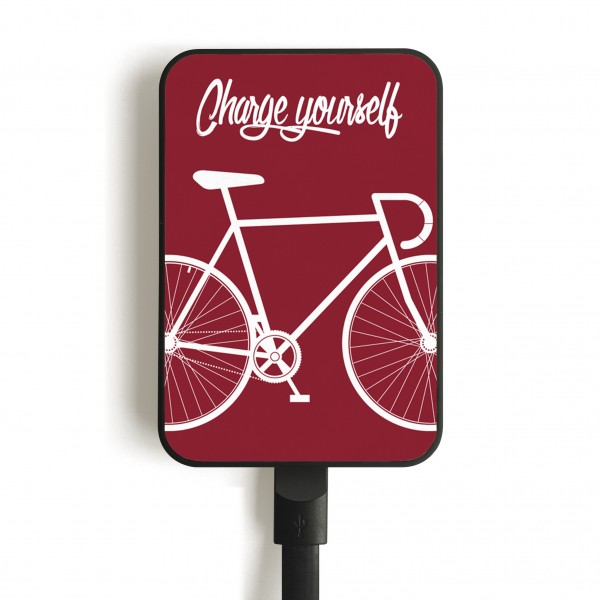 Bike Burgundy 5000mAh